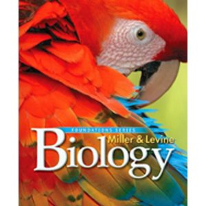 Miller & Levine Biology textbook cover