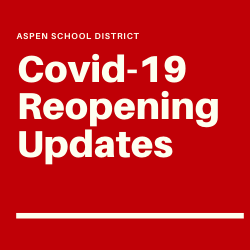 COVID-19 Reopening Updates
