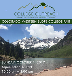 college fair October 1st