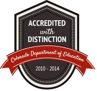 Accredited with Distinction