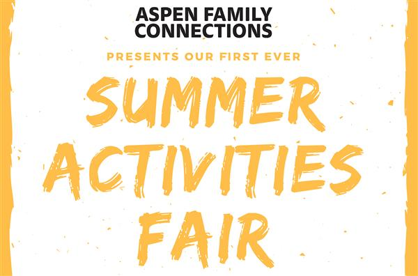 summer activities fair March 1st